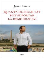 Quanta desigualtat pot suportar la democràcia?