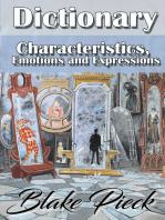 Characteristics Dictionary