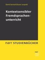 Kontextsensibler Fremdsprachenunterricht