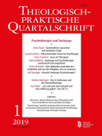 Psychotherapie und Seelsorge