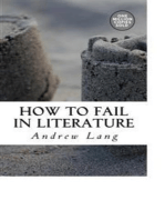 How to Fail in Literature