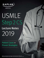 USMLE Step 2 CS Lecture Notes 2019