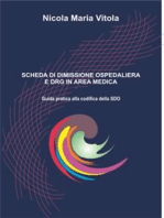 Scheda di Dimissione Ospedaliera e DRG in Area Medica