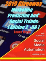 2019 Giveaway Marketing Prediction and Social Trends