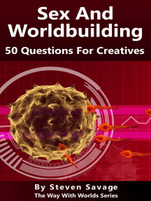 Sex And Worldbuilding: 50 Questions For Creatives: Way With Worlds, #3
