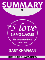 Summary Of The 5 Love Languages by Gary Chapman