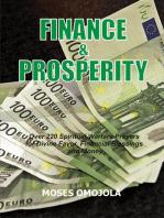 Finance & Prosperity
