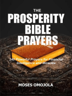 The Prosperity Bible Prayers: 240 Powerful Prayers for Financial Intelligence and Miracles