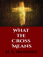 What the Cross Means