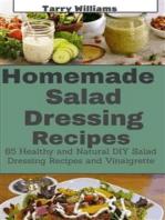 Homemade Salad Dressing Recipe