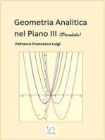 Geometria Analitica nel Piano III (Parabola)