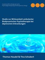 Studie zur Wirksamkeit ambulanter Biodynamischer Psychotherapie bei depressiven Erkrankungen