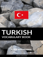 Turkish Vocabulary Book: A Topic Based Approach