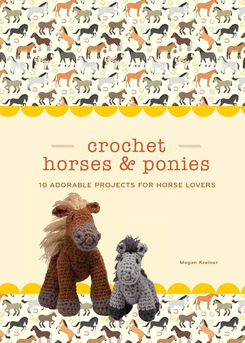 Crochet Horse and Donkey - A Free CAL - Grace and Yarn | 1140x815