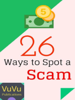 26 Ways to Spot a Scam