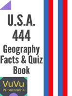 U.S.A. 444 Geography Facts & Quiz Book