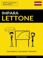 Impara il Lettone
