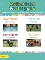 My First Dutch World Sports Picture Book with English Translations