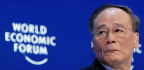 China On Track For More Growth, Vice-President Wang Qishan Tells Worried World Elite In Davos As He Rebukes US 'Bullying'