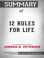 Summary of 12 Rules for Life: An Antidote to Chaos by Jordan B. Peterson | Conversation Starters