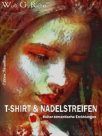 T-Shirt und Nadelstreifen