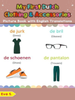 My First Dutch Clothing & Accessories Picture Book with English Translations