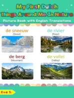 My First Dutch Things Around Me in Nature Picture Book with English Translations
