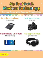 My First Dutch Modern Technology Picture Book with English Translations