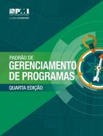 The Standard for Program Management - Fourth Edition (BRAZILIAN PORTUGUESE)