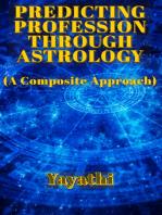 Predicting Profession through Astrology