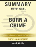Summary of Born a Crime