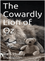The Cowardly Lion of Oz
