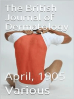 The British Journal of Dermatology, April 1905