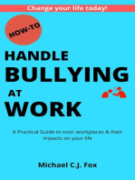How to Handle Bullying at Work