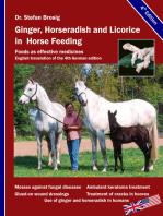 Ginger, horseradish and licorice in horse feeding