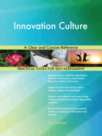 Innovation Culture A Clear and Concise Reference