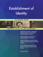 Establishment of Identity A Complete Guide