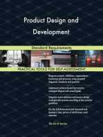 Product Design and Development Standard Requirements
