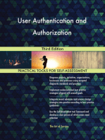 User Authentication and Authorization Third Edition