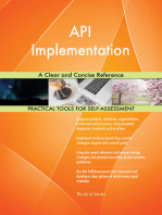 API Implementation A Clear and Concise Reference
