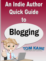 An Indie Author Quick Guide to Blogging