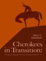 Cherokees in Transition