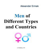 Men of Different Types and Countries