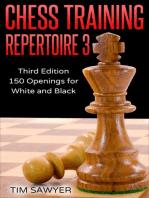 Chess Training Repertoire 3: Chess Training Repertoire, #3