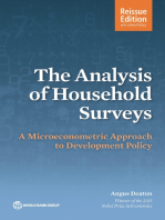 The Analysis of Household Surveys (Reissue Edition with a New Preface): A Microeconometric Approach to Development Policy