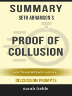 Summary of Proof of Collusion