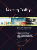 Learning Testing A Clear and Concise Reference