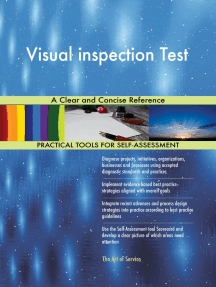 Visual inspection Test A Clear and Concise Reference