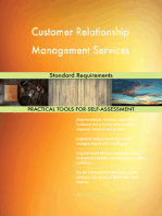 Customer Relationship Management Services Standard Requirements