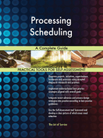 Processing Scheduling A Complete Guide